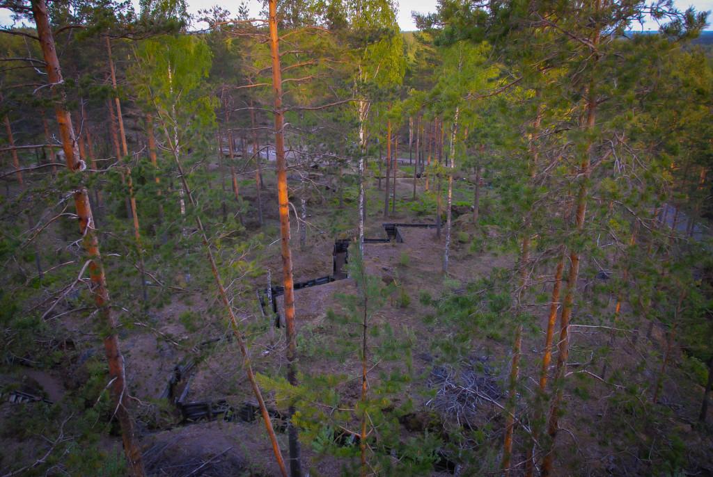 salpalinja_Miehikkälä; Salpalinja 17.5.2011 -2