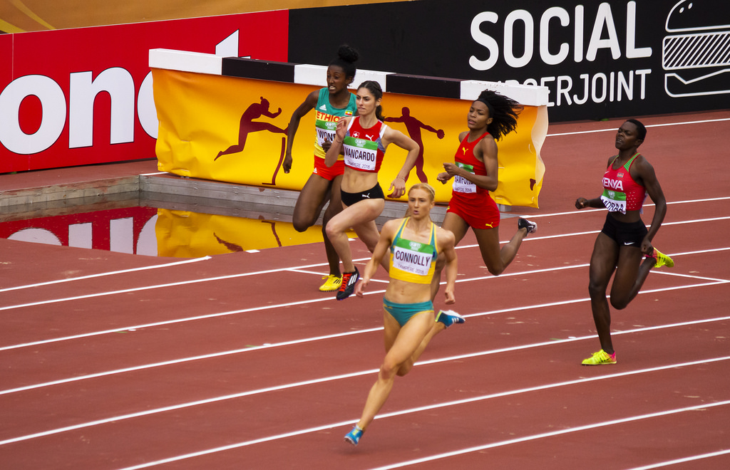 Naiset 400 m; semifinaali