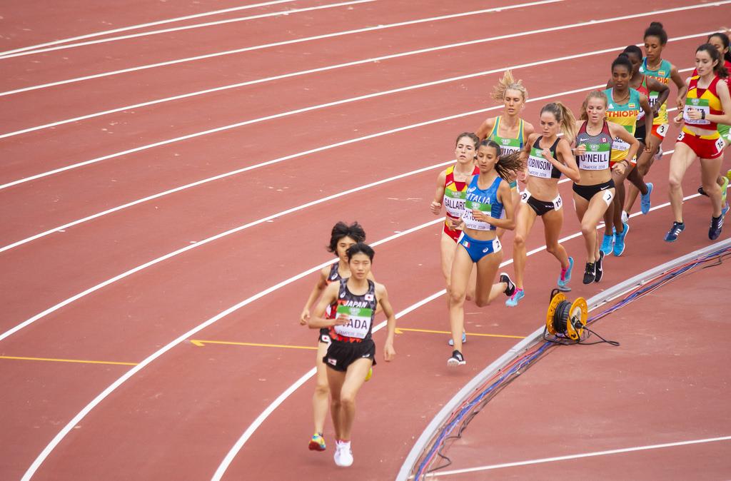 Naiset 3000 m; finaali