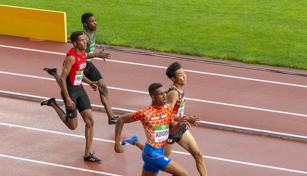 Miehet 200 m: semifinaali