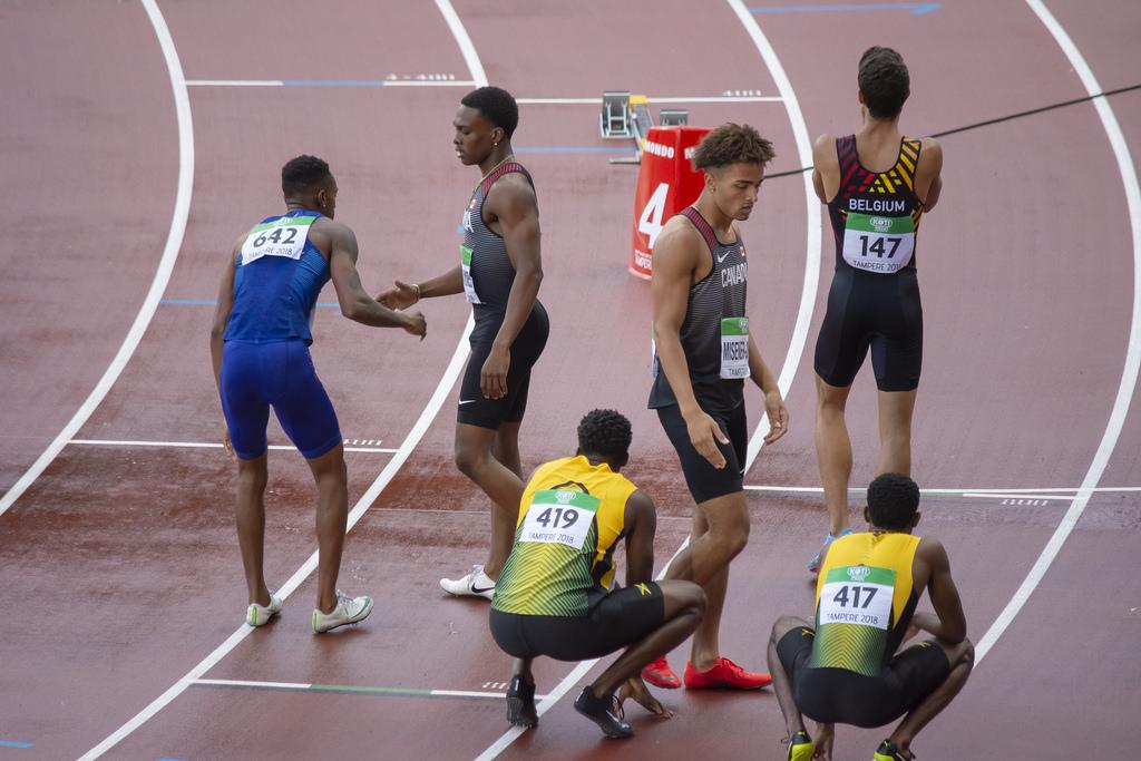 Miehet 400m; Finaali