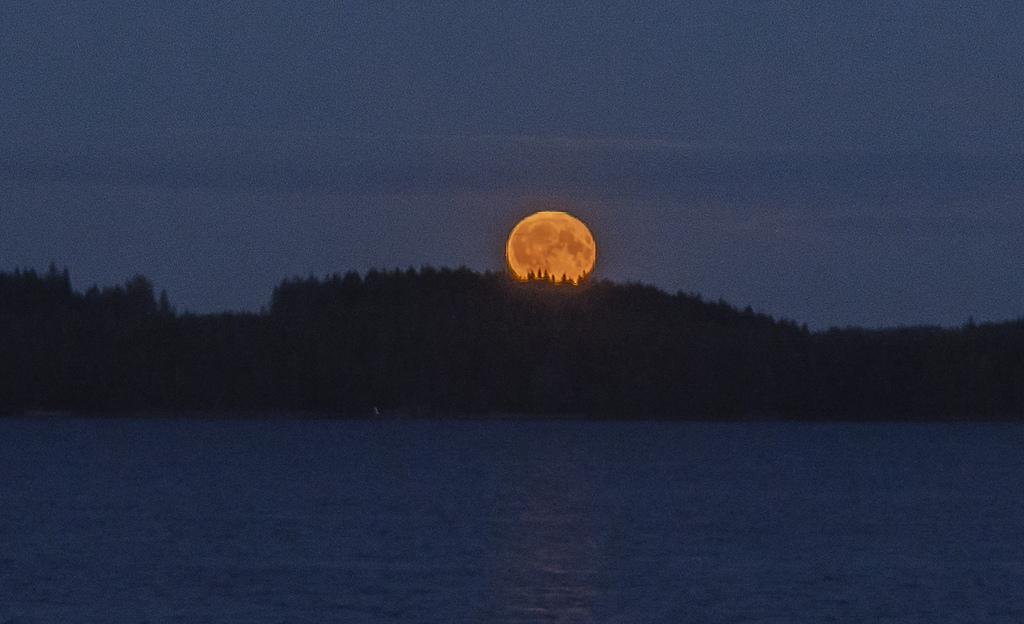 Kuun kuvaaminen kosahti