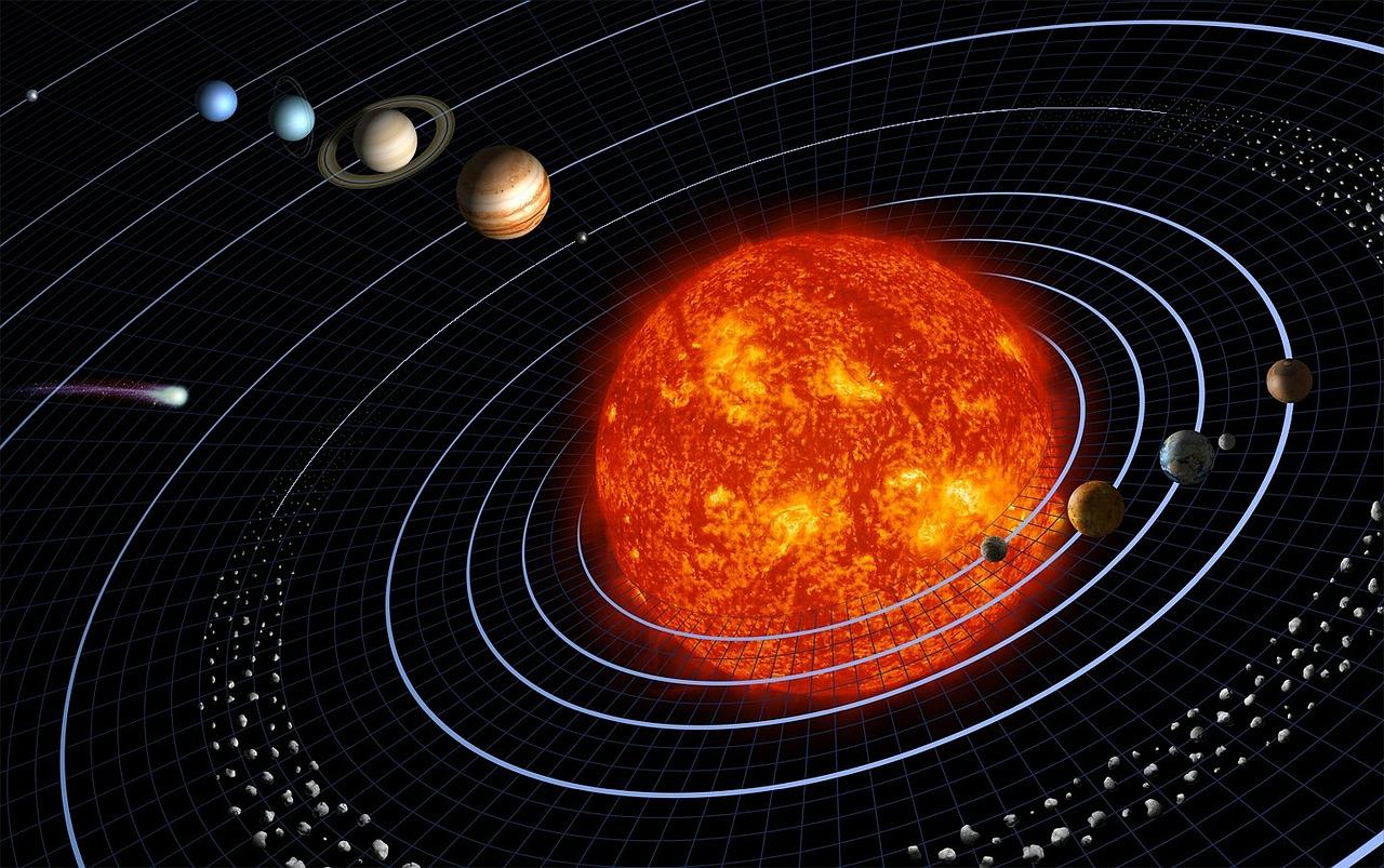 Jupiter ja Saturnus harvinaisesti lähekkäin