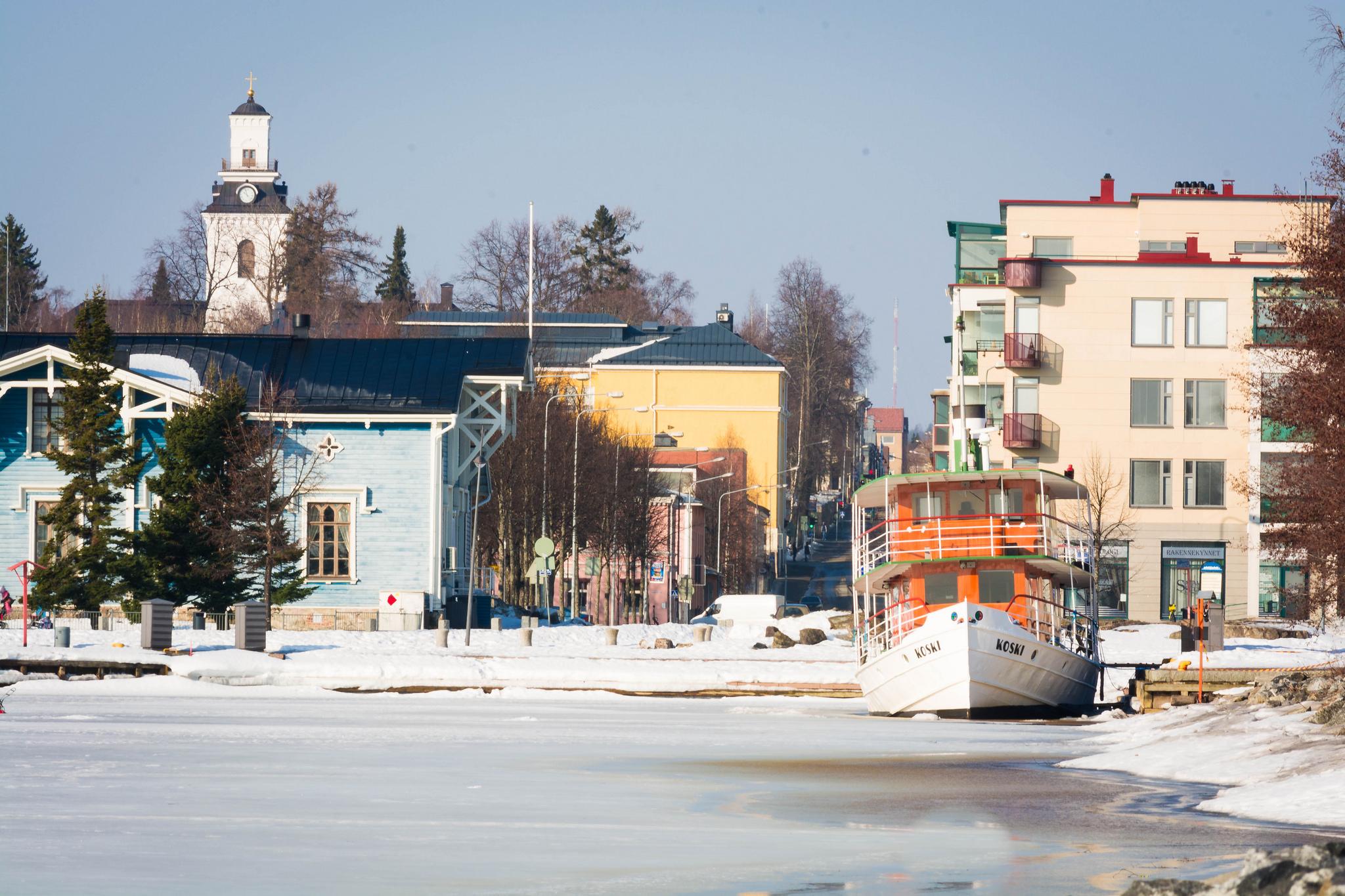 Kuopio; Satama 29.3.2016