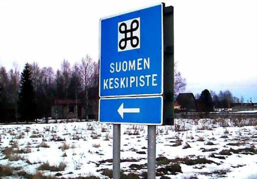Suomen keskipisteet