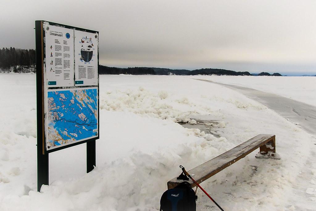 Luisteluretki Haukivedellä 5.2.2011