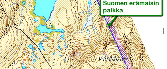 Suomen erämaisimmat paikat