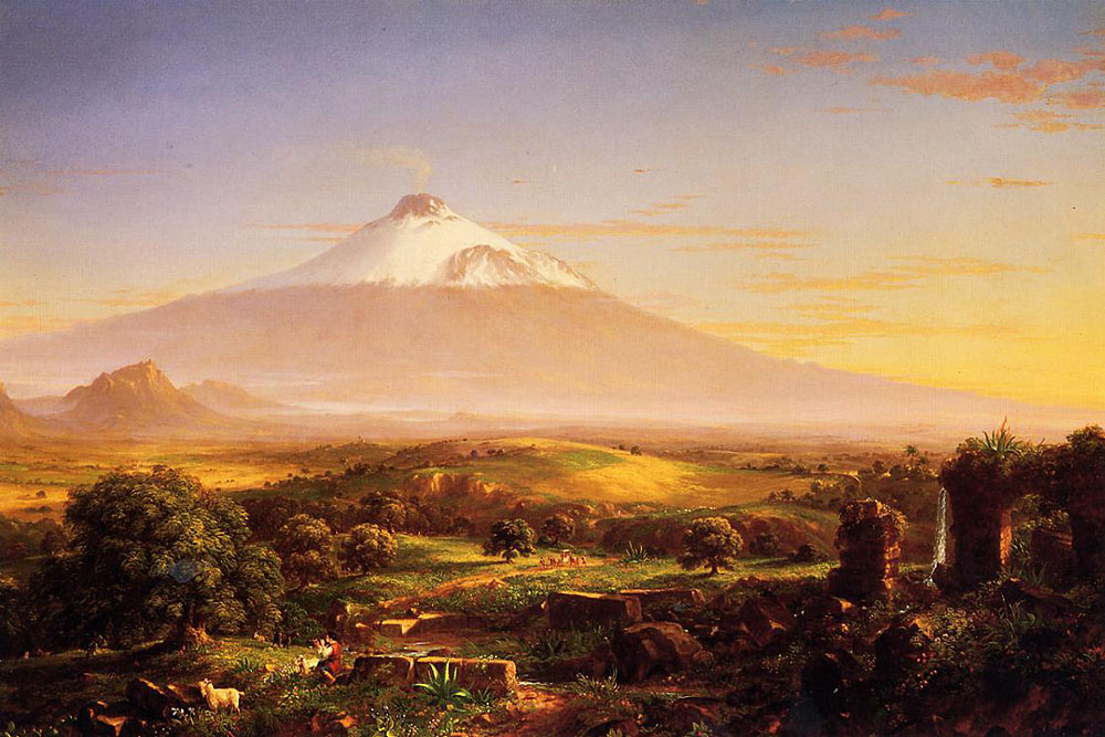 sylivian_joululaulu_Cole_thomas_Mount_Etna_1842_01
