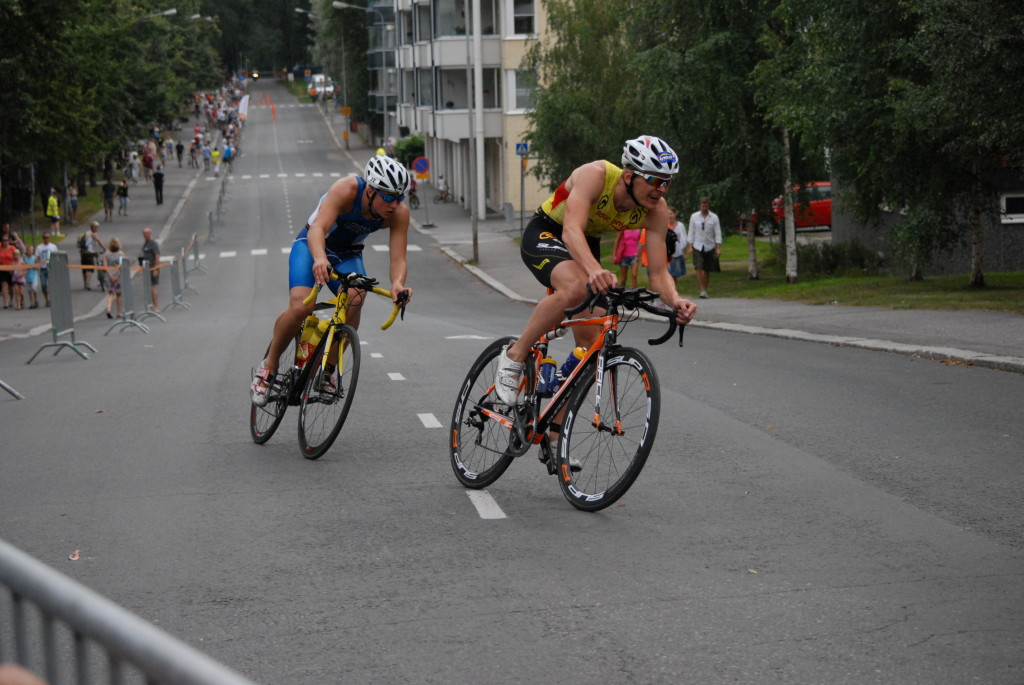Triathlonia Kuopiossa